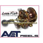 輸入商品AVET REELS LX カモフラ LEVER DRAG シングルSpeed右巻き4.6/6.0