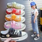 スリッポン 子供用 キッズ スニーカー 大きいサイズ 16.0〜21.5CM  シンプル 靴 シューズ無地 紐なし 履きやすい 女の子 男の子 通気性 軽い 柔らかい