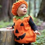 ベビー服 かぼちゃ 着ぐるみ 赤ちゃん パンプキン  デビル コスプレ ハロウィン コスチューム キッズ 子供服 ギフト 誕生日 トップス 帽子2点セット 暖かい