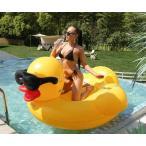 浮き輪 フロート アヒル 大きい うきわ かわいい 190*190*120cm 浮き具 浮輪 海 プール 海水浴 ビーチ 夏 夏休み インスタ レジャー