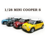 1/28 ミニクーパー S ミニカー MINI COOPER S 1台