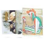 送料無料 在庫限り★ ノーマン・ロックウェル ポストカード 2枚セット R-11 絵画 インテリア雑貨 US