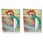 送料無料 在庫限り★ ノーマン・ロックウェル ポストカード 同柄2枚セット O-2 絵画 インテリア雑貨 US