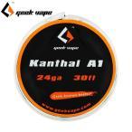 VAPE コイル 電子タバコ GeekVape Kanthal A1 Wire ギークべイプ 単線 カンタル ワイヤー