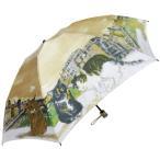 Manhattaner`s 日本製雨傘(ミニ傘) ポンテ・ベッキオ橋と猫友たち ベージュ KM-83M