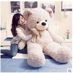ぬいぐるみ 特大 くま/テディベア 4色5サイズ80cm/110cm/130cm150cm/170cm 可愛い熊 動物 大きいコストコ クマ ぬいぐるみ