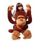 猿 ぬいぐるみ さる/サル 130cm 巨大/大きい 抱き枕/イベント/お祝い贈り物/誕生日プレゼント