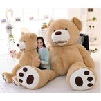 ぬいぐるみ 特大 くま/テディベア 可愛い熊 動物 大きい くまぬいぐるみ/熊縫い包み/クマ抱き枕/お祝い/ふわふわぬいぐるみ (2.5m)