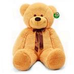 ぬいぐるみ 特大 くま/テディベア 可愛い熊 動物 大きいコストコ クマ ぬいぐるみ120cm