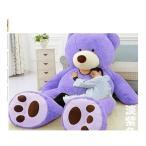 ぬいぐるみ 特大 くま/テディベア アメリカCostCo 可愛い熊 動物 260cm 大きい/巨大 くまぬいぐるみ/熊縫い包み/クマ抱き枕/お祝い/ふわふわぬいぐるみ