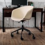 オフィスチェア パソコンチェア デスクチェア おしゃれ キャスター コンパクト ミドル デザインチェア ロウヤ LOWYA