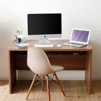 デスク パソコンデスク 机 幅120cm ライティング オフィス ワーク PC タップ収納 ケーブル収納 事務机 学習机 勉強机 台 おしゃれ ロウヤ LOWYA