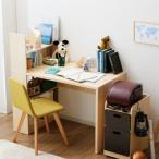 学習机 コンパクト デスク キッズ 子ども用 机 勉強机 棚付き ワゴン付き パソコン オフィス 収納 入学 キッズ 子供 本棚 おしゃれ 新生活 一人暮らし 家具