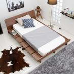 ベッド ベッドフレーム セミダブル すのこベッド マットレス対応 ベット フレーム モダン ロータイプ フレームのみ