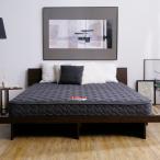 ショッピングマット マットレス ダブルサイズ フランスベッド 厚み19cm 高密度連続スプリング 国産 日本製 おしゃれ