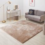 ラグ ラグマット 秋冬  マット ラメ入り シャギーラグ 185×185 Mサイズ 滑り止め 絨毯 じゅうたん 正方形