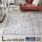 ラグ L おしゃれ 200×250cm マット ミックス センター 絨毯 じゅうたん オールシーズン 長方形 ワンルーム あったか 冬