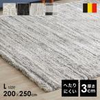 ショッピングラグマット 夏用 ラグ ラグマット おしゃれ 北欧風 3畳 厚手 夏用 ラグ 200×250cm カーペット 絨毯 じゅうたん 秋冬 ロウヤ LOWYA