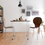 ダイニングテーブルセット 2人掛け 3点セット(ダイニングチェア テーブル ガラス) 幅75cm×75cm おしゃれ ダイニングセット
