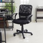 オフィスチェア メッシュ パソコン チェアー ミドルバック デザイン デスク用 PC OA 椅子 イス いす おしゃれ 新生活 一人暮らし 家具