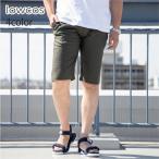 ショートパンツ メンズ ハーフ プリペラ 膝上 短め 細身 スリム 白 紺 ハーフパンツ ショーツ イージーパンツ イージーショーツ カジュアル サーフ リゾート