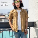 シャツ メンズ 半袖 オープンカラー 開襟 スリム シンプル 黒 白 オープンカラーシャツ 開襟シャツ 半袖シャツ カジュアルシャツ カジュアル リゾート サーフ