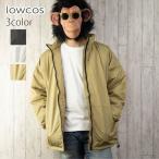 中綿ジャケット メンズ スタンドカラー ハイネック ビッグシルエット オーバーサイズ ゆったり ダウンタッチジャケット ダウンタッチコート ブルゾン アウター