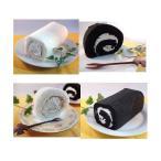 白黒ロールケーキセット 4本〔代引不可〕