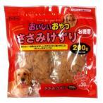 (まとめ)ペットプロおいしいおやつ ささみけずり お徳用 200g(100g×2袋)(ペット用品・犬フード)〔×20セット〕