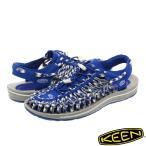 ショッピングkeen KEEN MEN UNEEK FLAT 【メンズ】 キーン メン ユニーク フラット BLUE RAVEN