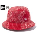 NEW ERA BUCKET 01 PAISLEY 【2016SS】 ニューエラ バケット 01 ペイズリー RED