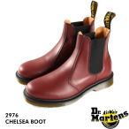 Dr.Martens CHELSEA BOOT 2976 メンズレディース ドクターマーチン チェルシー ブーツ CHERRY 赤 サイドゴア