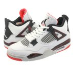 NIKE AIR JORDAN 4 RETRO ナイキ エアージョーダン 4 レトロ WHITE/BLACK/LIGHT CRIMSON/PALE CITRON 308497-116