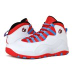 NIKE AIR JORDAN 10 RETRO CHICAGO ナイキ エア ジョーダン 10 レトロ WHITE/LIGHT CRIMSON/UNIVERSITY BLUE/BLACK