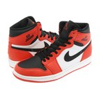 NIKE AIR JORDAN 1 RETRO HIGH RARE AIR ナイキ エア ジョーダン 1 レトロ ハイ MAX ORANGE/BLACK/WHITE