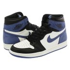 NIKE AIR JORDAN 1 RETRO HIGH OG 【HAND IN THE GAME COLLECTION】 ナイキ エア ジョーダン 1 レトロ ハイ OG SUMMIT WHITE/BLUE MOON/BLACK