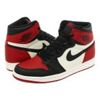 NIKE AIR JORDAN 1 RETRO HIGH OG 【BRED TOE】【つま赤】 ナイキ エア ジョーダン 1 レトロ ハイ OG GYM RED/BLACK/SUMMIT WHITE