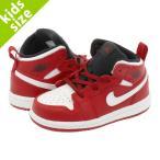 ショッピングAIR NIKE AIR JORDAN 1 MID BT ナイキ エア ジョーダン 1 ミッド BT GYM RED/WHITE 640735-605