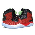 NIKE AIR JORDAN SPIKE FORTY ナイキ エア ジョーダン スパイク フォーティー UNIVERSITY RED/GHOST GREEN/BLACK/WHITE スニーカー メンズ 819952-605