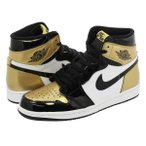 【ビッグサイズ】 NIKE AIR JORDAN 1 RETRO HIGH OG NRG ナイキ エア ジョーダン 1 レトロ ハイ OG NRG BLACK/WHITE/METALLIC GOLD
