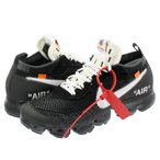 NIKE AIR VAPORMAX FLYKNIT 【OFF-WHITE】【THE 10】 ナイキ エア ヴェイパー マックス フライニット BLACK/WHITE/CLEAR