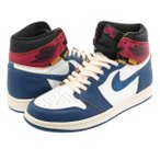 NIKE AIR JORDAN 1 RETRO HIGH OG NRG 【UNION】  ナイキ エア ジョーダン 1 レトロ ハイ OG NRG ユニオン WHITE/STORM BLUE/VARSITY RED/BLACK bv1300-146