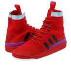 adidas FORUM ADVENTURE PK 【adidas Originals】 アディダス フォーラム アドベンチャー PK SCARLET/CORE BLACK/SHOCK PURPLE