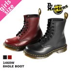 ドクターマーチン レディース 8ホール ブーツ Dr.Martens 8HOLE BOOT 1460W BLACK(11821006)/ CHERRY(11821600)