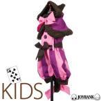 子供用 チェシャ猫風ケープ&ロンパースセット/ ハロウィン、衣装、仮装、子供、コスチューム、女の子