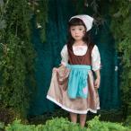 変身前のシンデレラ ワンピースドレス/ハロウィン 仮装 子供 コスチューム プリンセス 女の子 コスプレ キッズ用プリンセスドレス