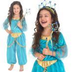 子供用プリンセスドレス コスチューム衣装   /アラビアン・プリンセス ブルー /ハロウィン、衣装、仮装、子供、コスチューム、プリンセス、女の子