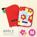 ショッピング母子手帳 母子手帳ケース ハンナフラ リンゴ M 正規品 メール便 送料無料