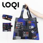 ショッピングエコ エコバッグ ローキー LOQI ショッピングバッグ サブバッグ コンパクト 折りたたみ メール便 送料無料