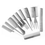 ヘアコームセット、10個のヘアスタイリスト、すべてのヘアタイプとスタイル用のプロフェッショナルスタイリ